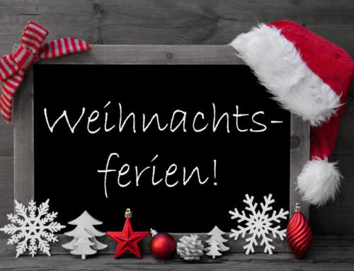Weihnachtsbrunch und Weihnachtsferien 2019